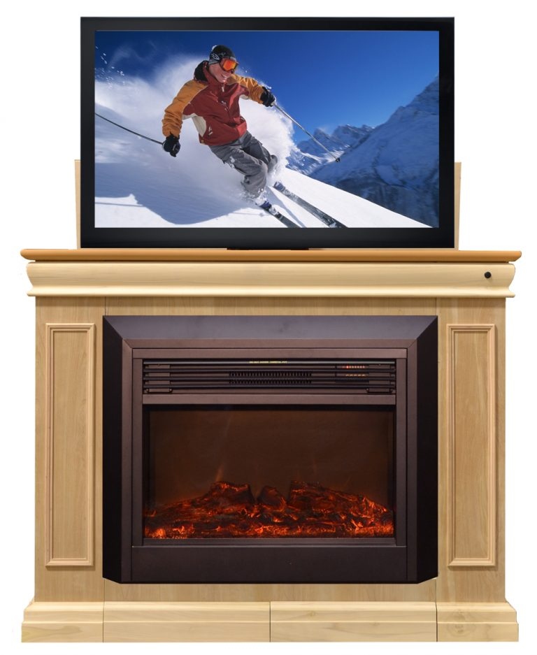 television fireplace